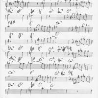 Etude de Nuages de Django 1/4 par Bruno Pelletier-Bacquaert