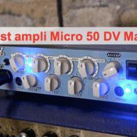 Micro 50 DV Mark (@dvmarkamps) : une tête 50W qui sonne