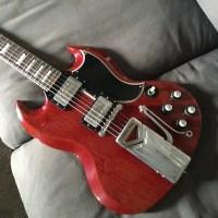 Gibson SG 1960 - Guitares d'Exception par Matthieu Lucas