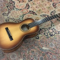 Test Guitare - Parlor - Luthier Pierre Bertrand