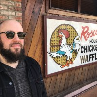 Julien @beurks Bitoun in Los Angeles - 1/5 - Roscoe's Chicken & Waffle