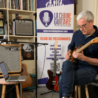 Pierrejean Gaucher, interview guitare à la main autour de son album Zappe Satie