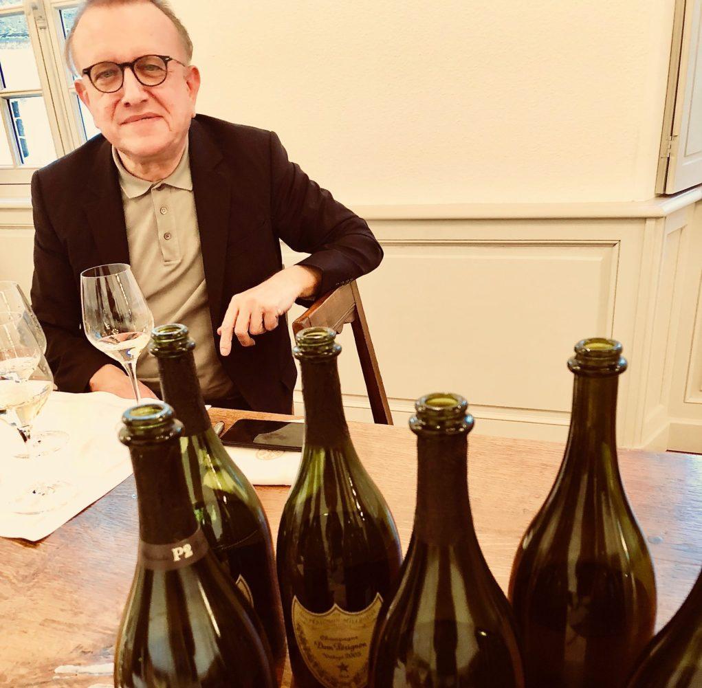 Richard Geoffroy, chef de caves de Dom Pérignon, l'homme de l'art.