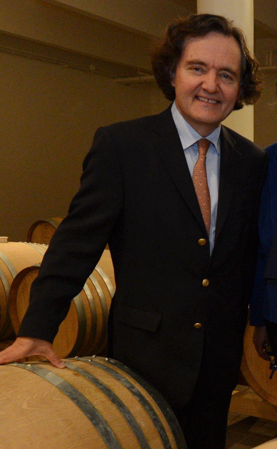 Pierre-Emmanuel Taittinger, président de la maison éponyme.