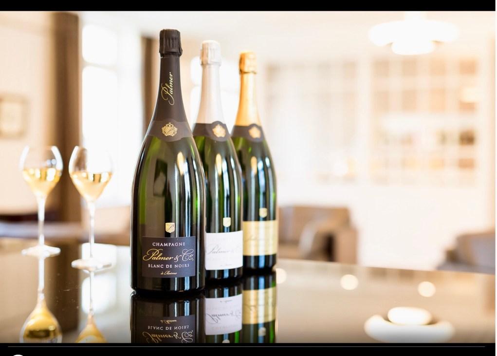 Un partenariat entre la marque de champagne Palmer & Co et le groupe Constellation.