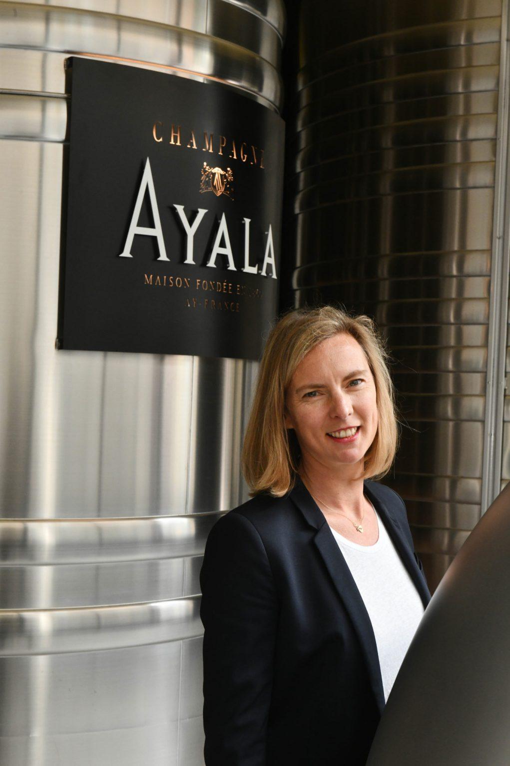 Caroline Latrive, chef de caves de la maison Ayala.