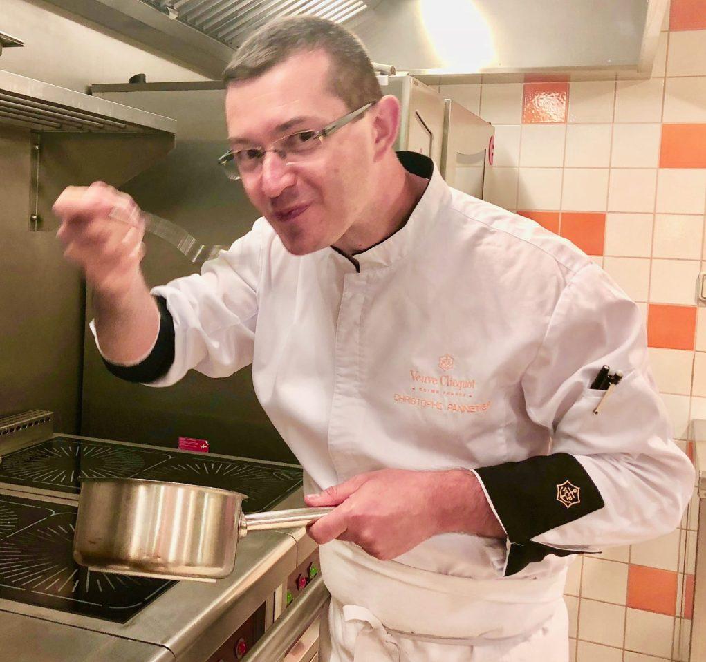 Christophe Pannetier, le talent fou d'un cuisinier de l'ombre.