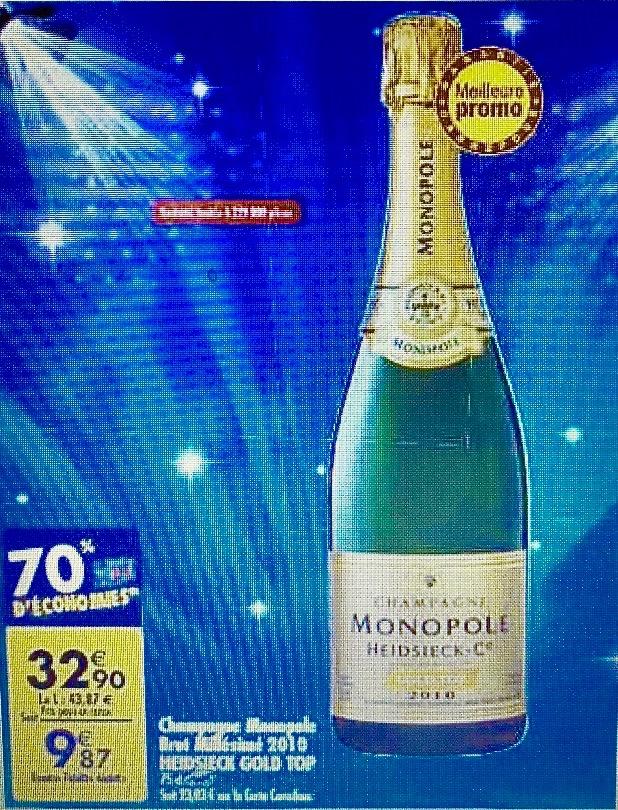 Foires aux vins, fêtes de Noël... les champagnes à moins de dix euros reviennent en force.