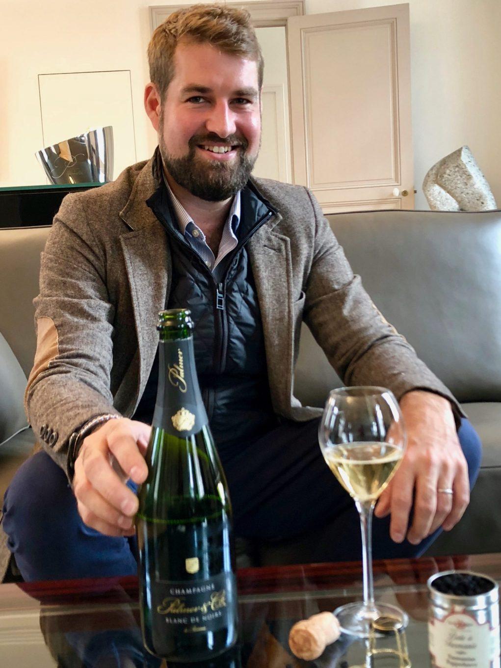 Présentation du nouveau Blanc de noirs du champagne Palmer & Co.