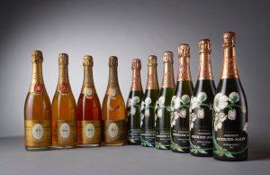 Vente aux enchères exceptionnelle de Champagne à Cannes.