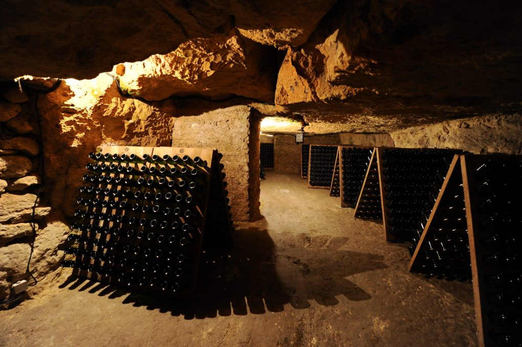 Caves historiques du champagne Pannier.