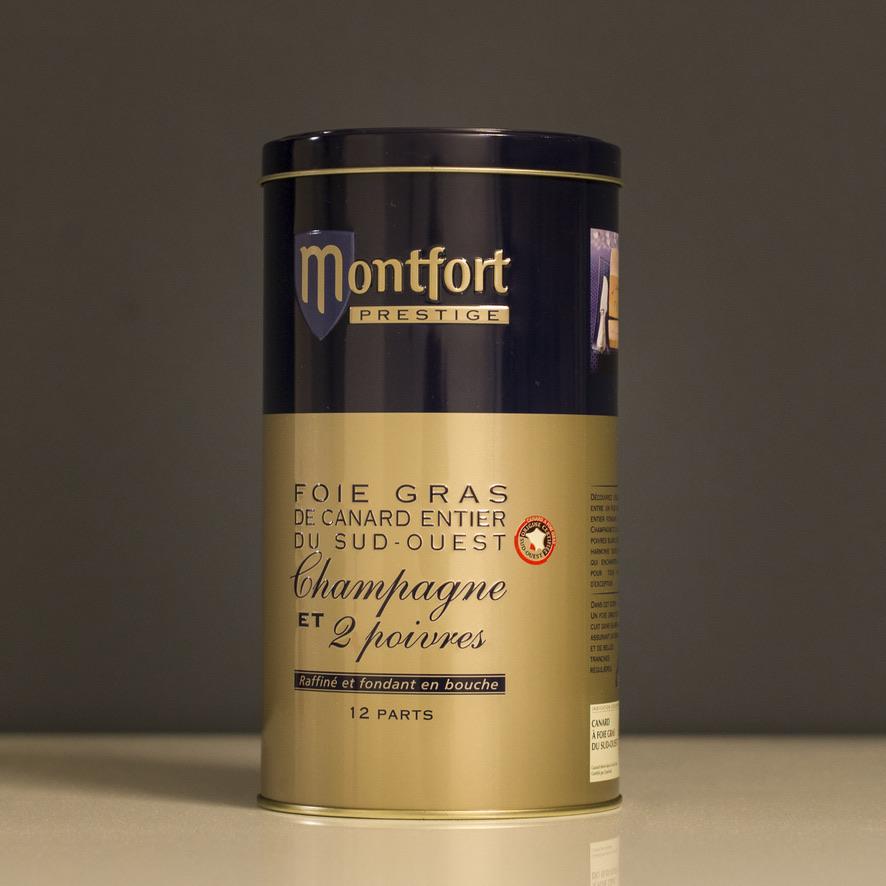 Le fois gras Montfort, un vrai challenge pour le Comité Champagne.