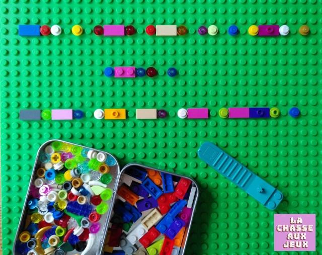 code morse en Lego®
