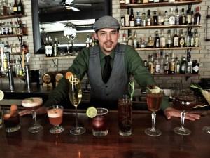 Isaac at the bar
