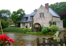Veules-les-Roses, un moulin à eau