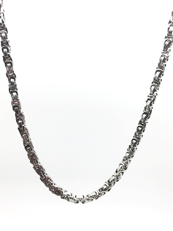 Stainless Steel Byzantine Chains La Chic Designs