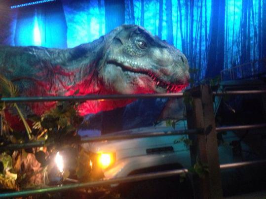 T-Rex (Foto de Alejandra Cominges))