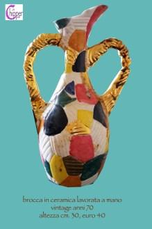 brocca ceramica vintage