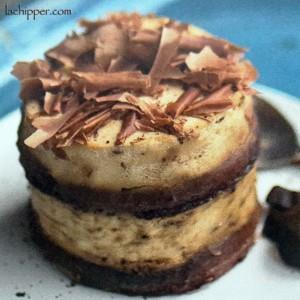 frolla al cacao con crema di caffè e mascarpone