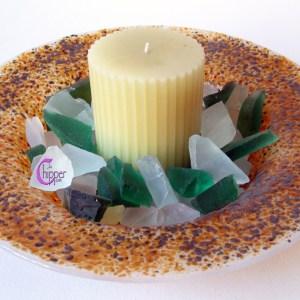 centrotavola con candela lachipper.com