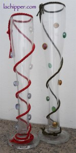 creare con gemme di vetro