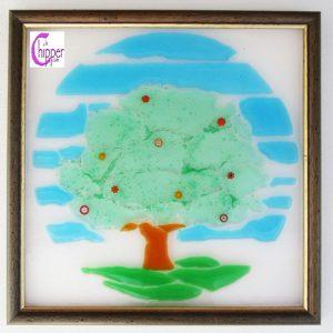 quadro di vetro artistico