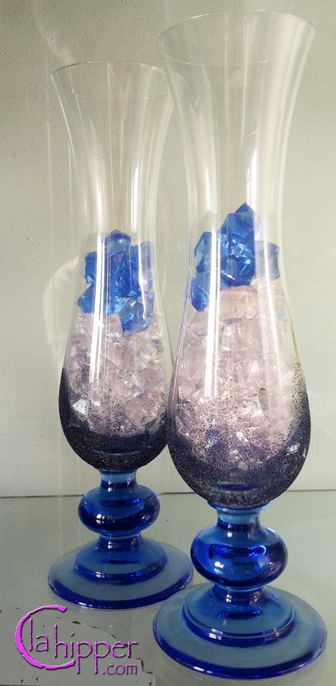 Vasi decorati di vetro e ceramica for Graniglia di vetro