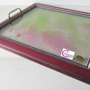 vassoio con piano di vetro lachipper.com