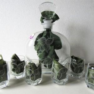 set amaro vetro inciso lachipper.com