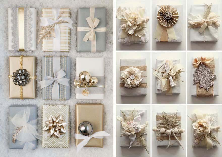 Eccezionale Il pacchetto regalo di Natale originale: idee fai da te  NS81