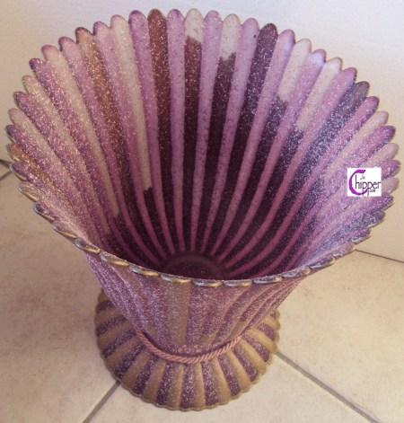 vaso vetro di Murano rosa www.lachipper.com