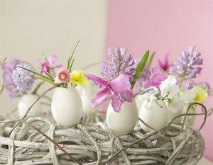 fare il centrotavola di Pasqua