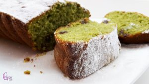 plumcake al tè verde www.lachipper.com