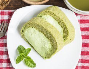 torta tè verde matcha www.lachipper.com