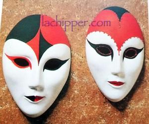 dipingere una maschera veneziana lachipper.com