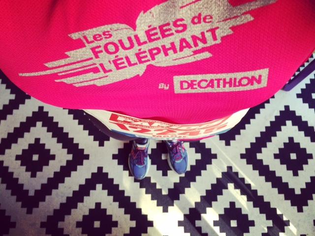 Les foulées de l'éléphant