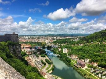 Trail des forts de Besançon