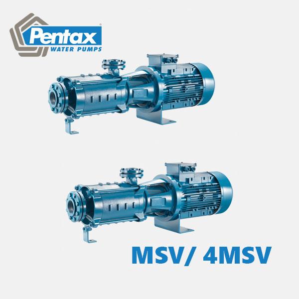 Máy bơm tăng áp đa tầng cánh Pentax MSH Series