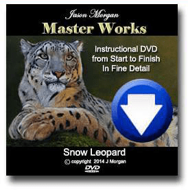 How to paint a snow leopard 8 hour video