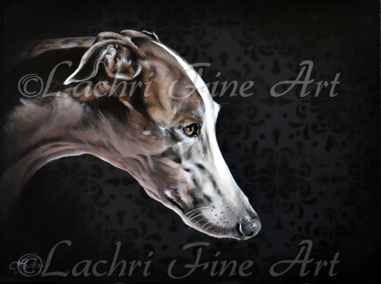 Counting Crows, greyhound painting