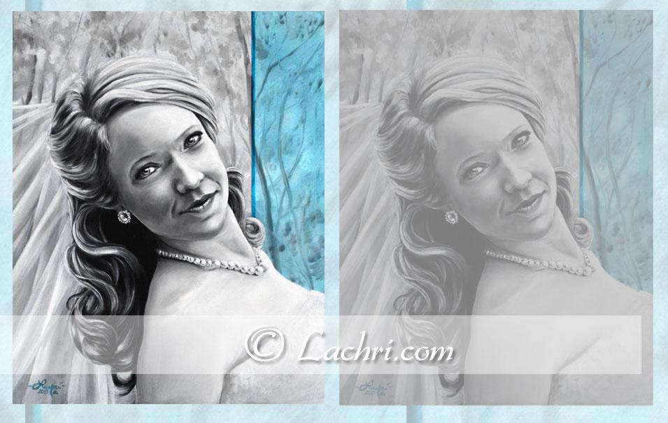 Portrait by Lachri