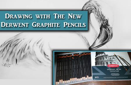 The New Derwent Graphic Graphite Pencils