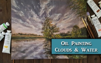 Oil Painting Landscape Tutorial