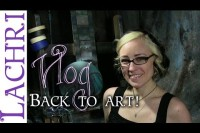 4 tips for getting back into art after a long break - w/ Lachri