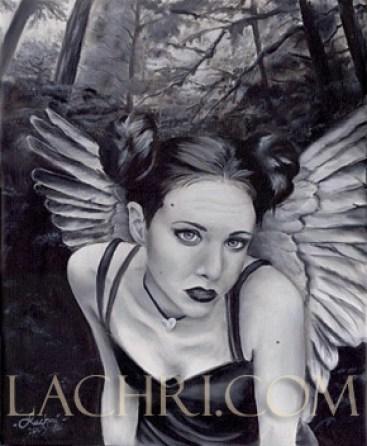 Oil painting fairy portrait