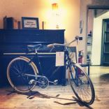 Ciclografica @ Santeria: bici e piano