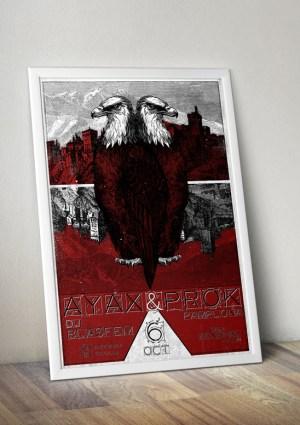 Ayax y Prok poster