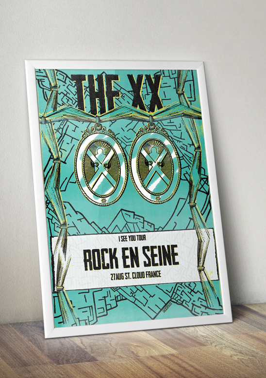 the xx poster