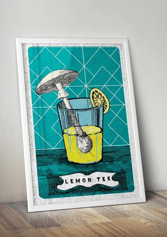 lemon tek poster