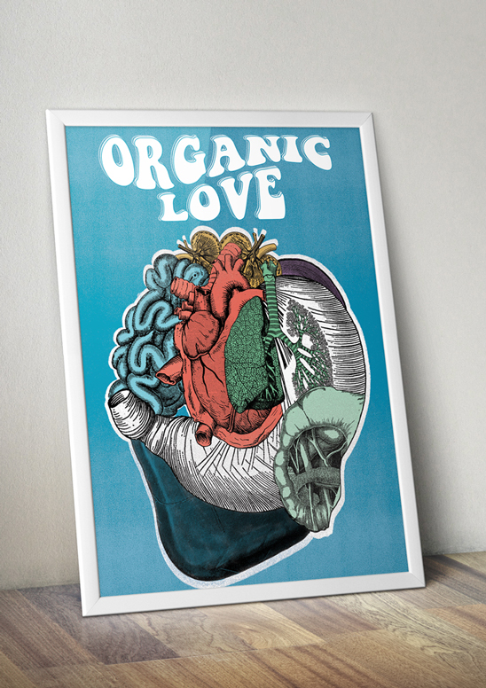The Organic Love Poster